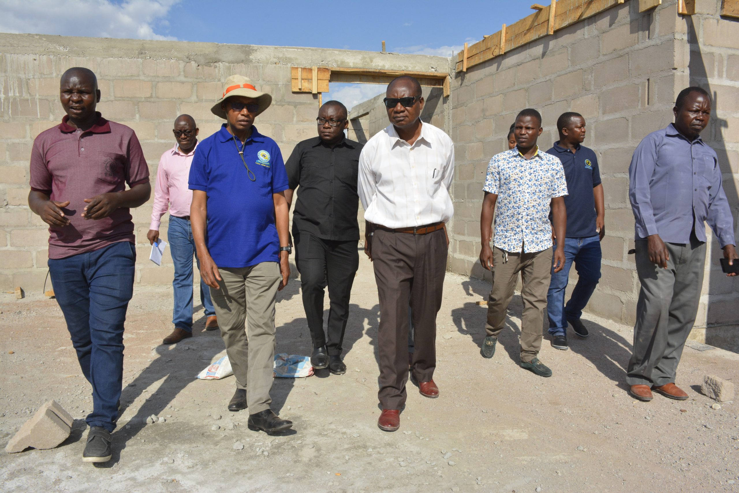 PROF. MUKANDALA VISITS THE ONGOING CONSTRUCTION IN MANYARA, SIMIYU AND GEITA