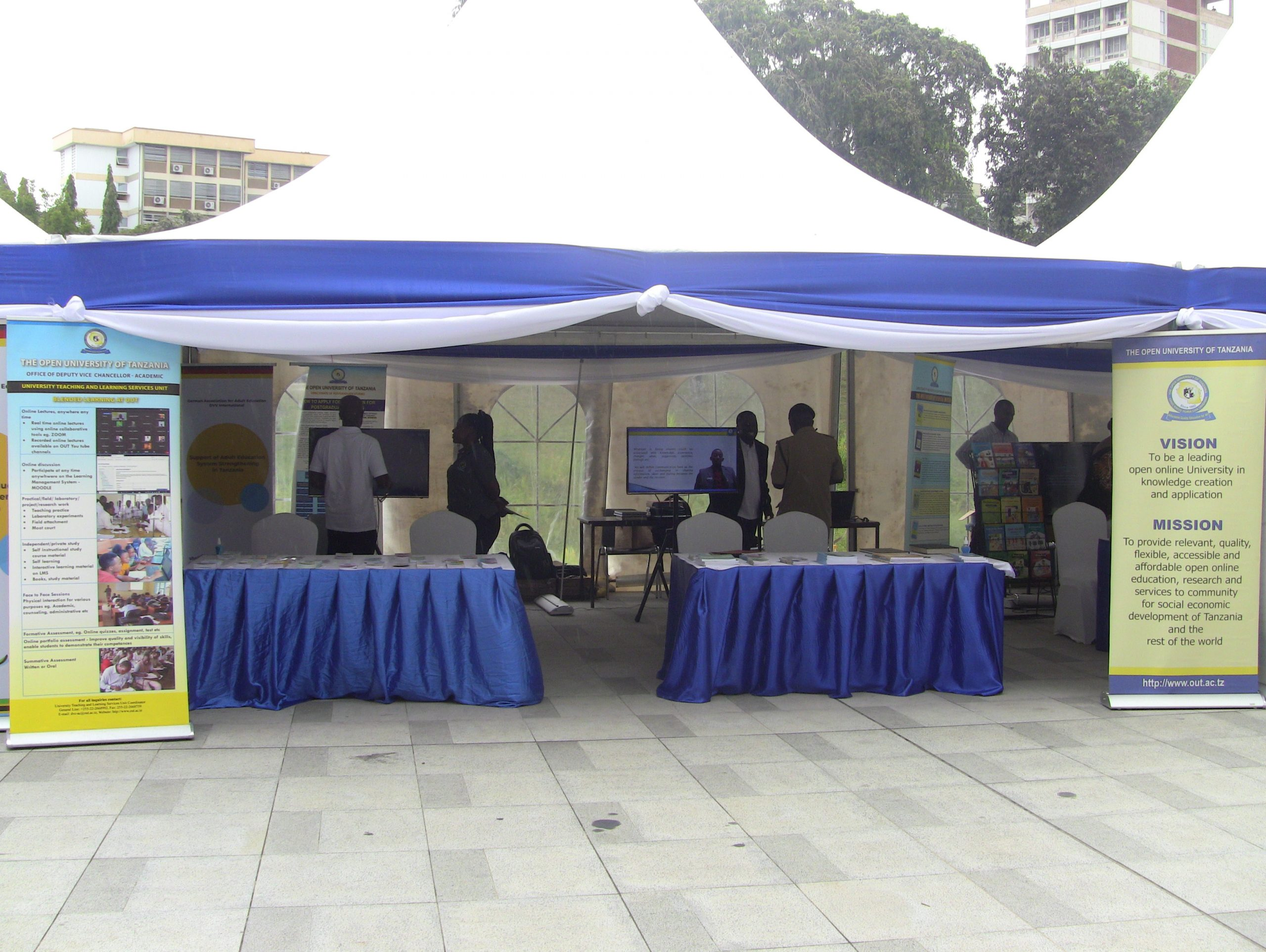 The Open University of Tanzania (OUT) participates in the marking of 50 years of Adult Education in Tanzania